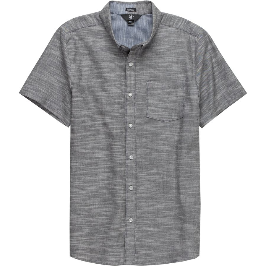 Volcom Everett Oxford Short-Sleeve Shirt - Mens