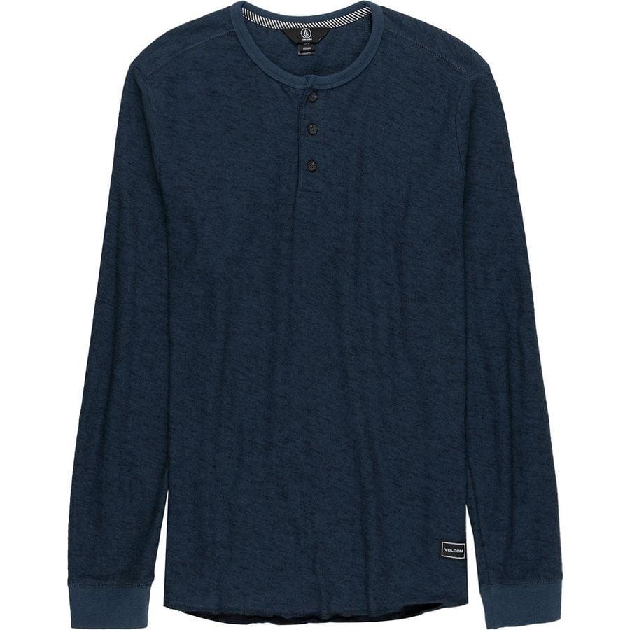 Volcom Moxie Long-Sleeve Henley Shirt - Mens