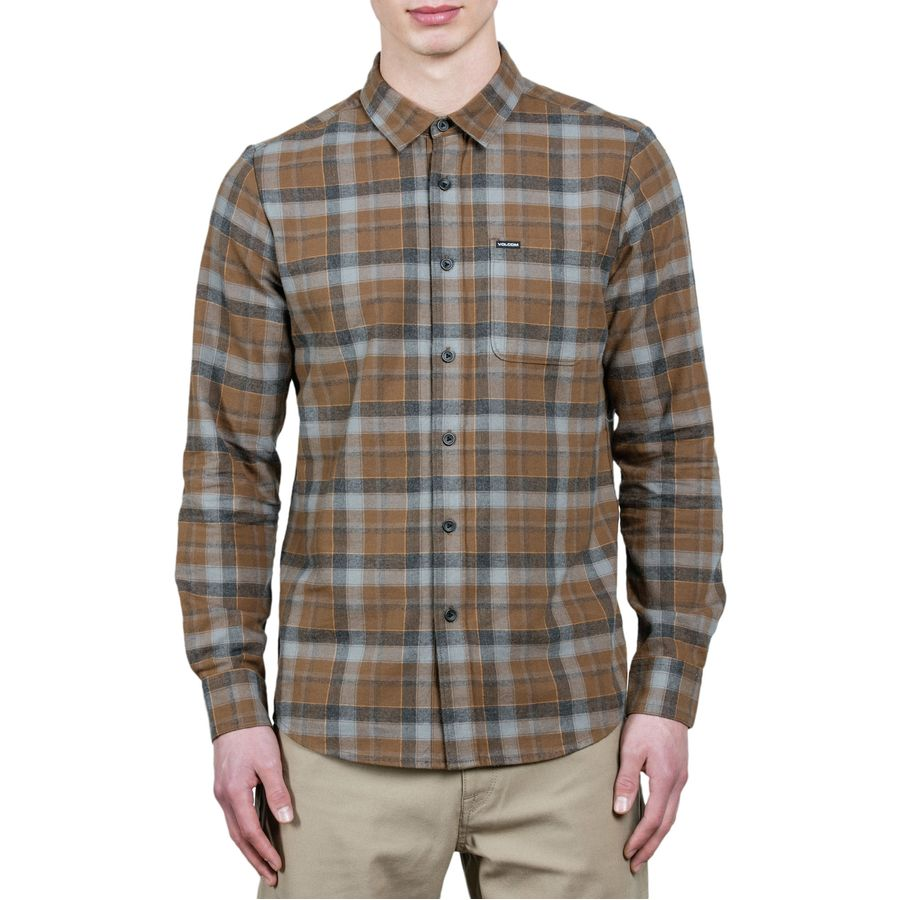 Volcom Caden Long-Sleeve Shirt - Mens