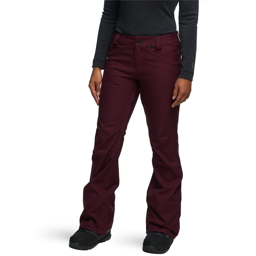 Volcom - Species Stretch Pant - Women s - Merlot 7b3000645
