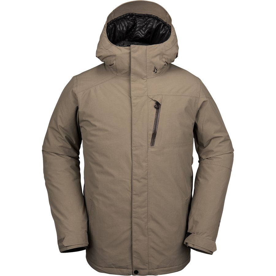 Volcom L Insulated Gore Tex Hooded Jacket Men S