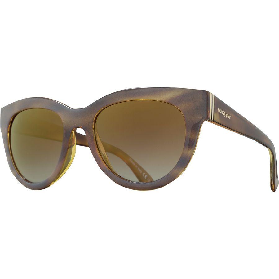 e0feb5a6af VonZipper - Queenie Sunglasses - Women s - Frosted Tortoise Gold Chrome Grad