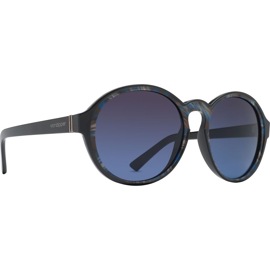 13dcbddbfb VonZipper - Lula Sunglasses - Women s - Black Color Swirl Brown Blue  Gradient
