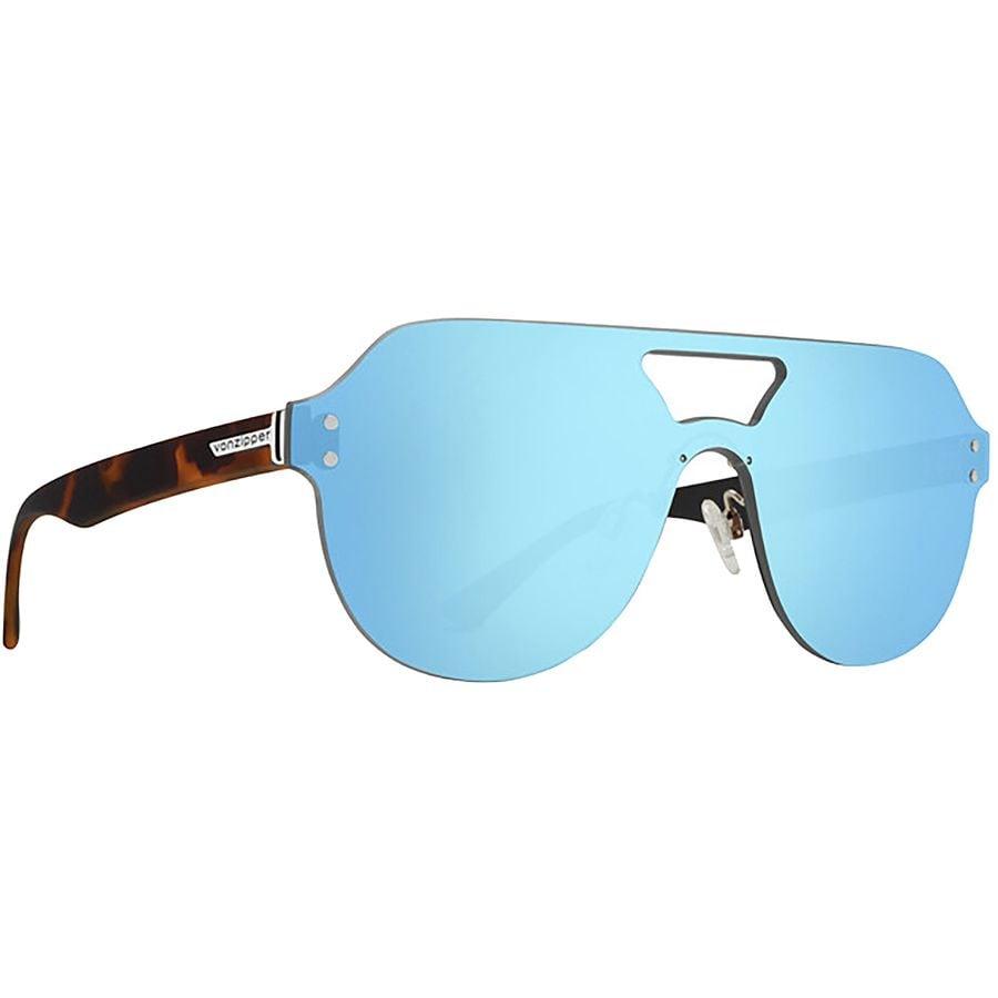 fe260935cf VonZipper - Alt Psychwig Sunglasses - Tortoise Satin Sky Chrome