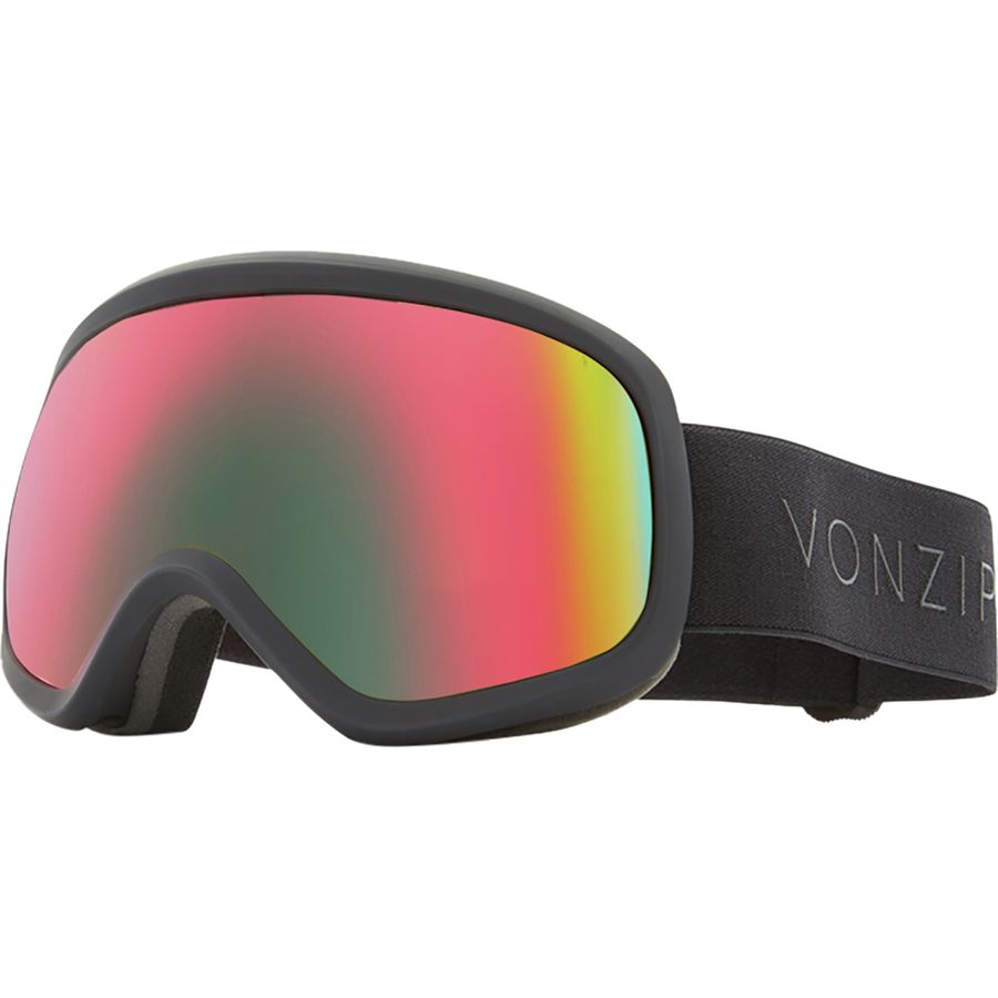 e9077caa983 VonZipper - Skylab Goggles - Black Satin Wildlife Plus Wildlife Yellow  Bonus Lens