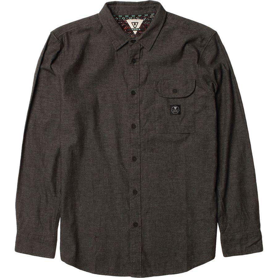 Vissla Sea Weed Flannel Shirt - Mens