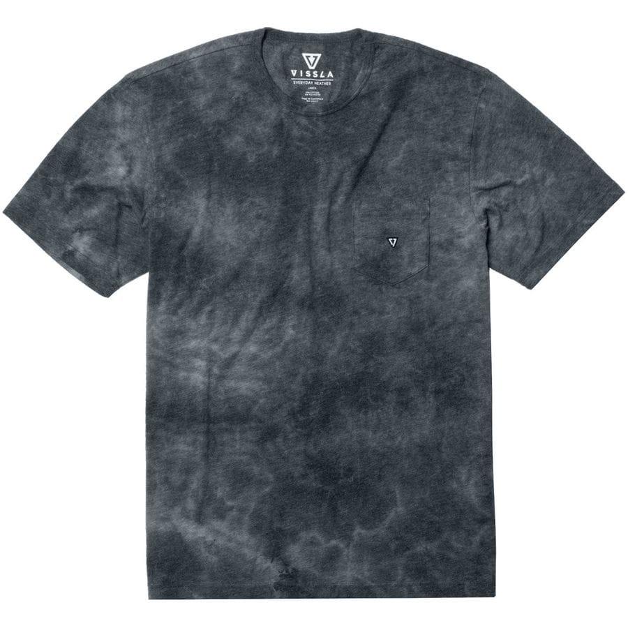 Vissla Calipher Embroidery Short-Sleeve Tie Dye T-Shirt - Mens