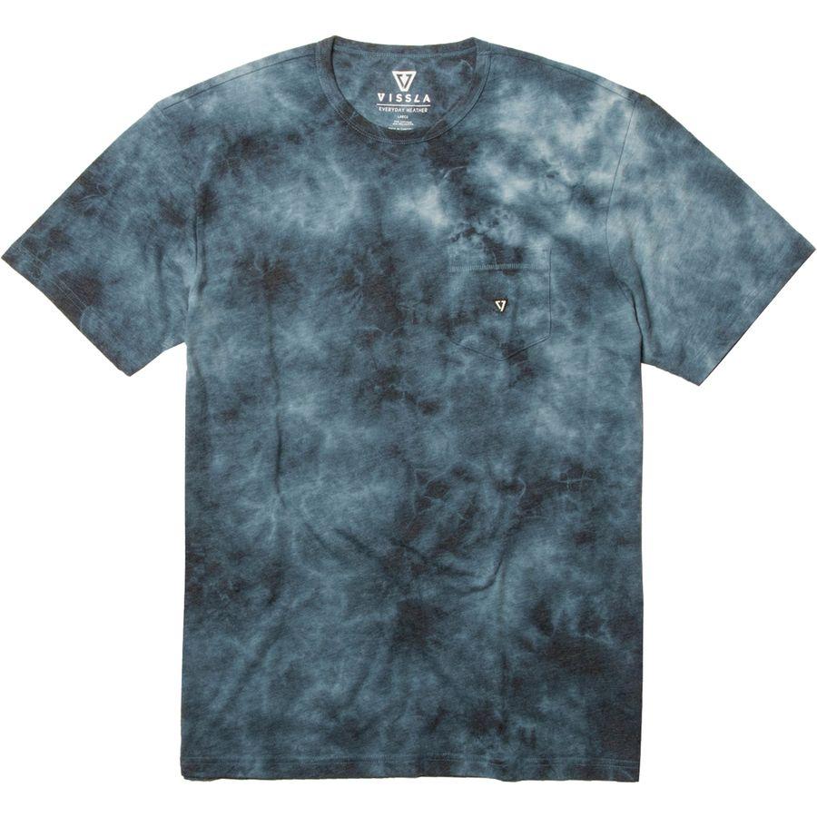 Vissla Calipher Embroidery Tie Dye T Shirt Men S