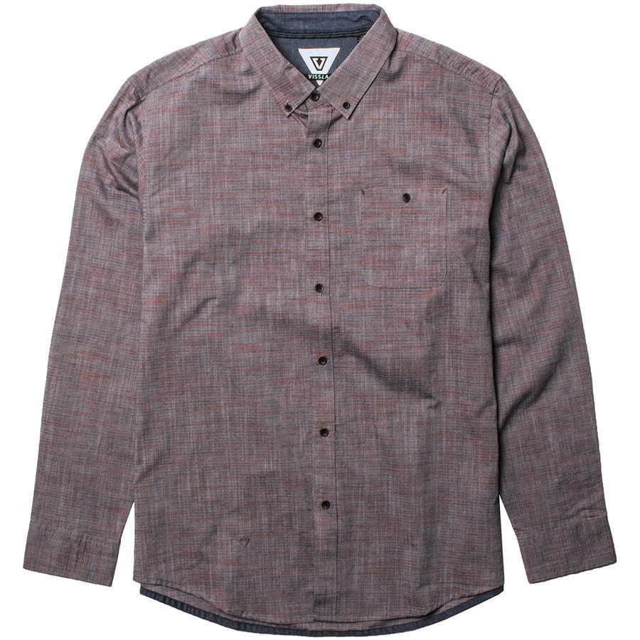 Vissla Pulses Long-Sleeve Shirt - Mens