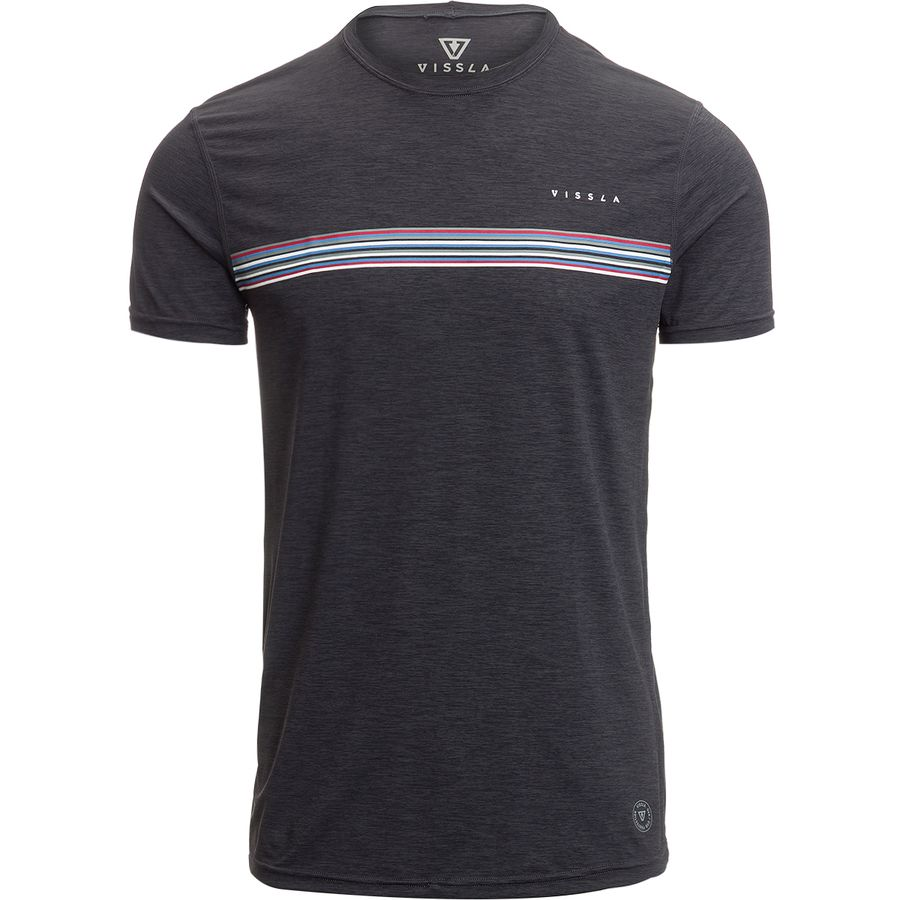 Vissla Dredgers Short-Sleeve Rashguard - Mens