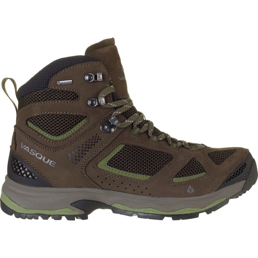 Vasque Breeze Iii Gtx Hiking Boot Mens Perfect Fit Brown Olive Pesto