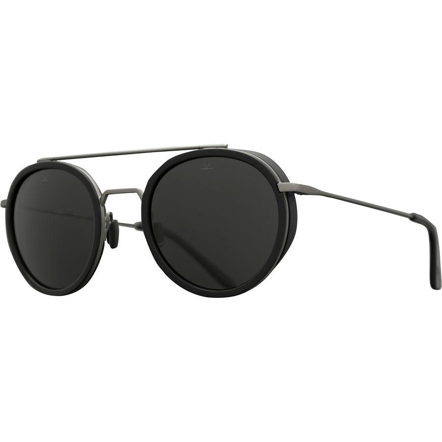 6fc34166ac Vuarnet - Edge Round VL 1613 Polarized Sunglasses - Women s -  Black Gunmetal Grey