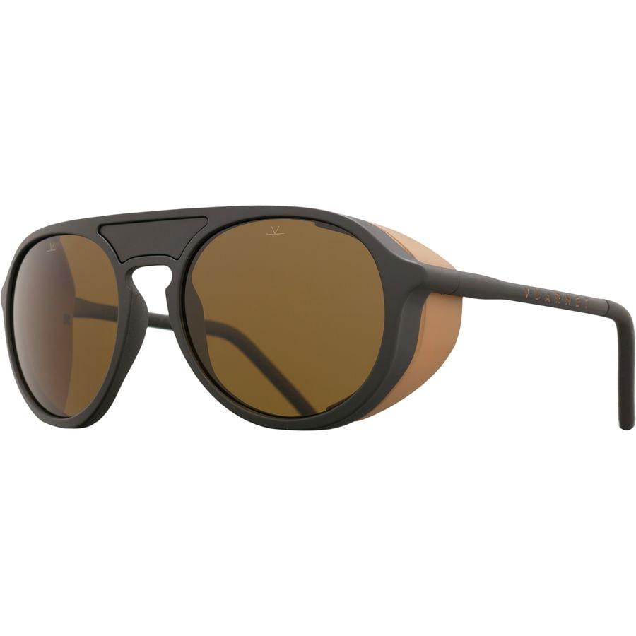 ef1ee448138 Vuarnet - ICE Polarized Sunglasses - Matte Black  Matte Camel Black