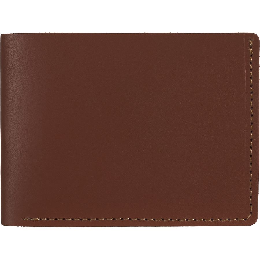 104ac362a3677 Wood and Faulk - Classic Billfold Wallet - Men s -