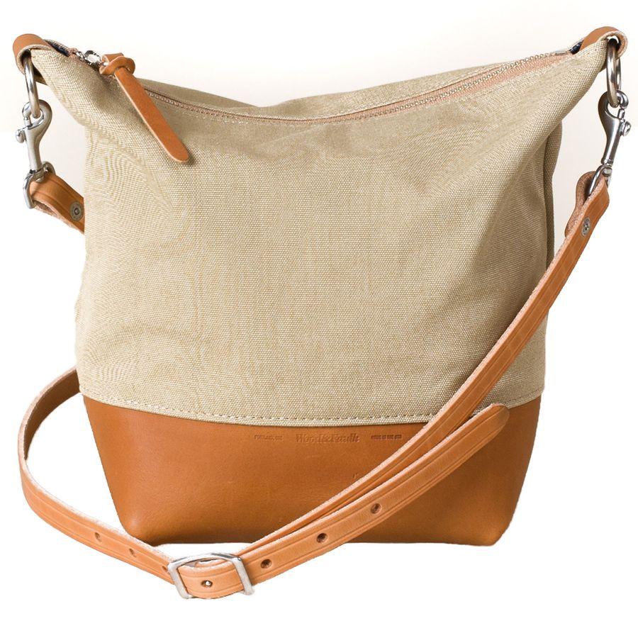 Wood and Faulk - Field Bag Purse - Women s - Linen 30bac1167a410