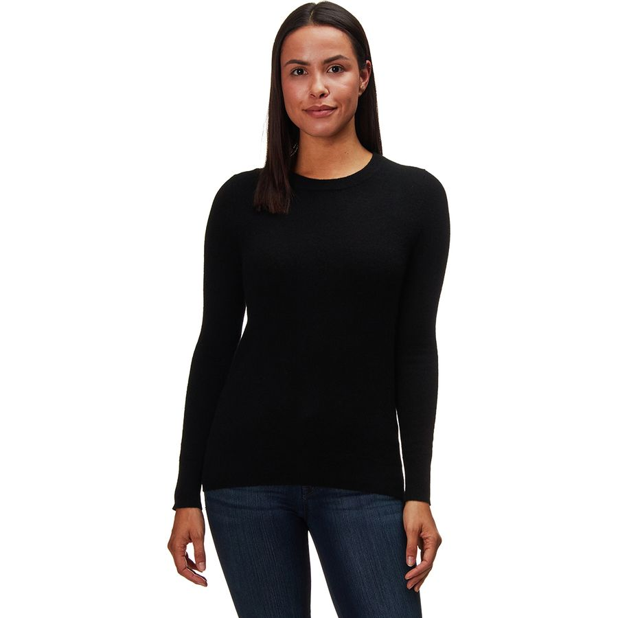 White   Warren Essential Crewneck Sweater - Women's | Backcountry.com