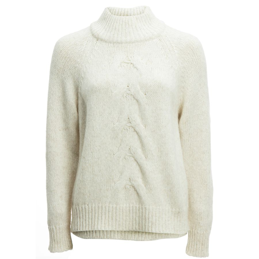 White + Warren Center Cable Standneck Sweater - Women s   Steep   Cheap be7f9641ee