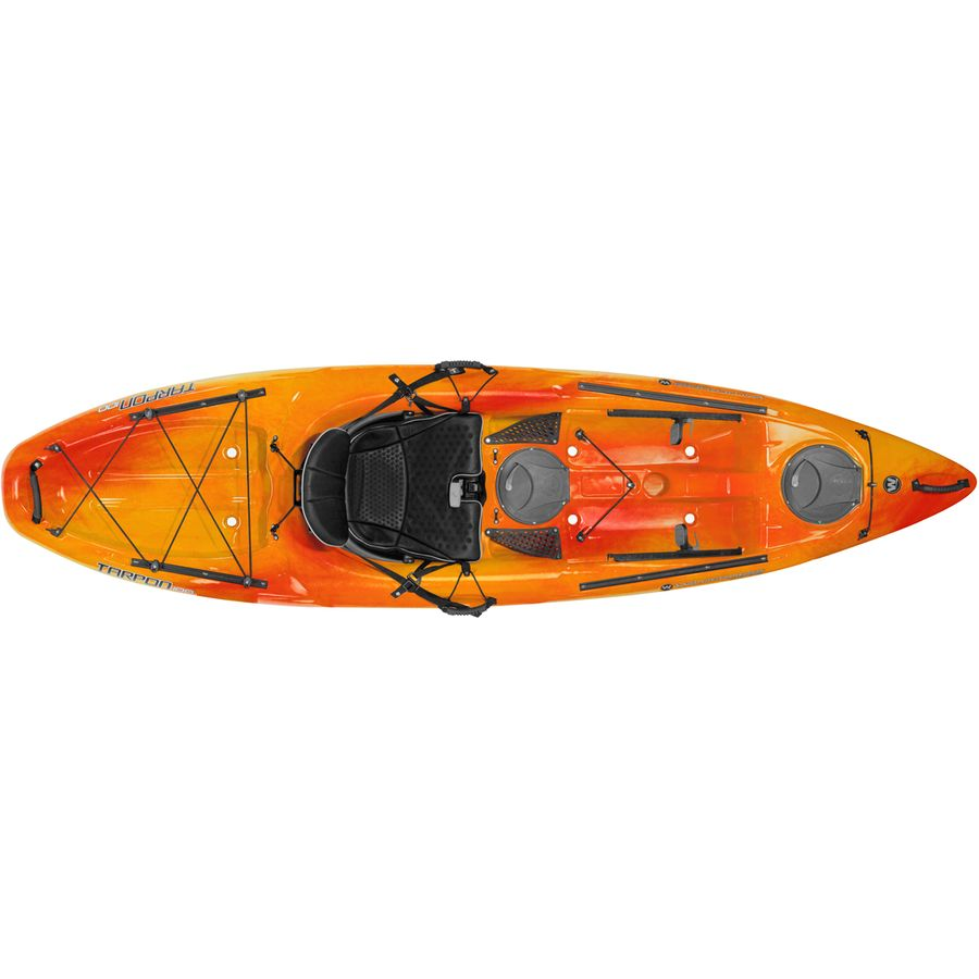 Wilderness systems tarpon 100 sit on top kayak 2018 for Wilderness systems fishing kayaks