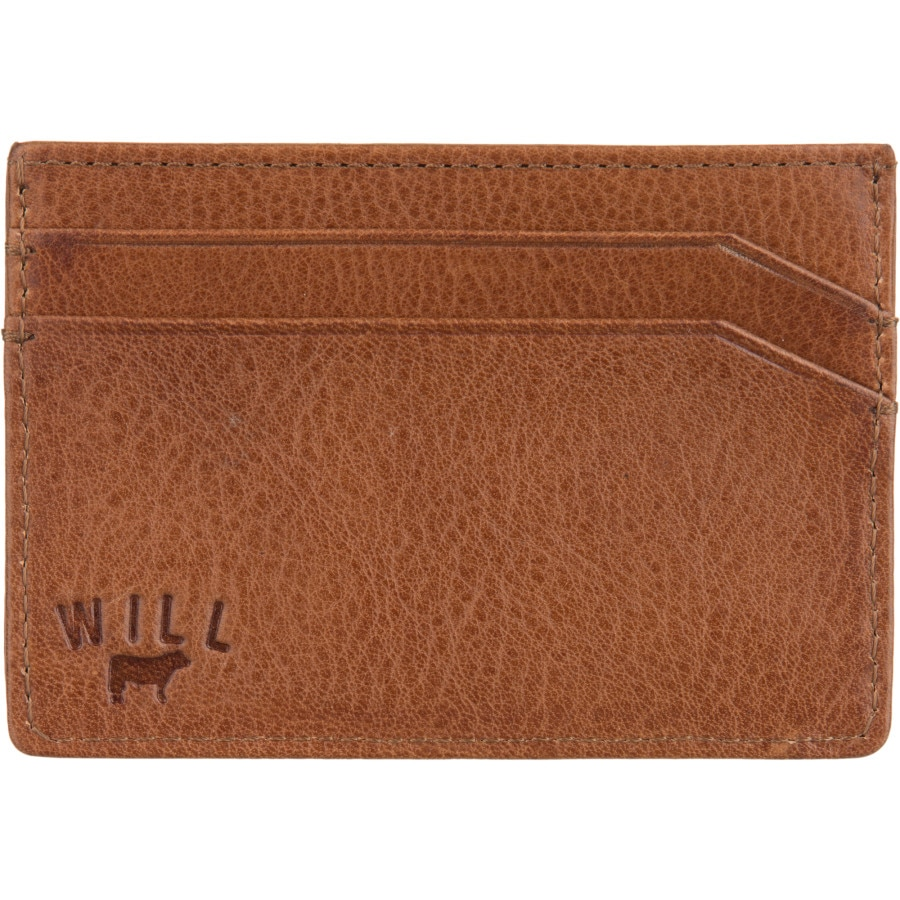 Will Leather Goods Sampson Slim Card Case - Mens