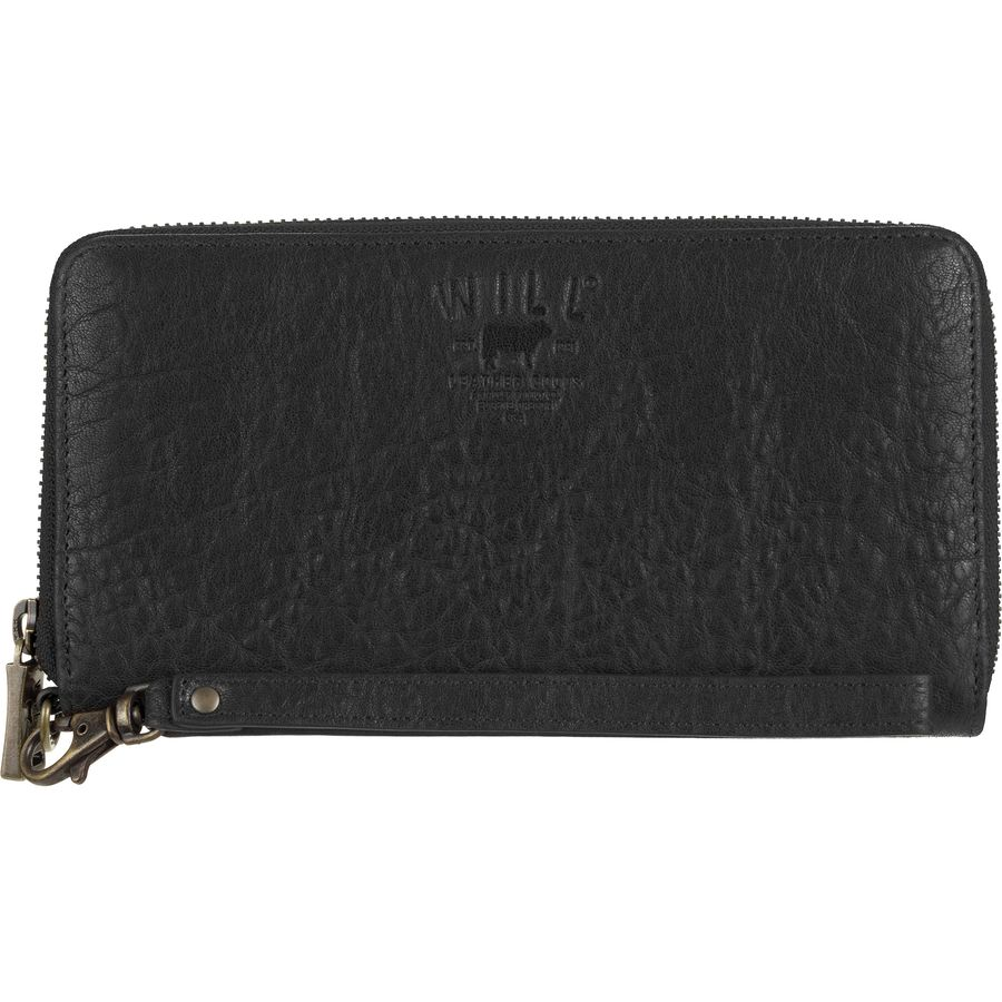 Will Leather Goods Alix Zip Around Clutch