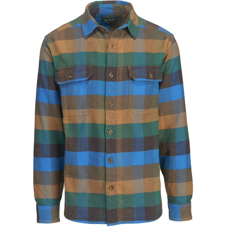 Woolrich Oxbow Bend Flannel Shirt - Mens