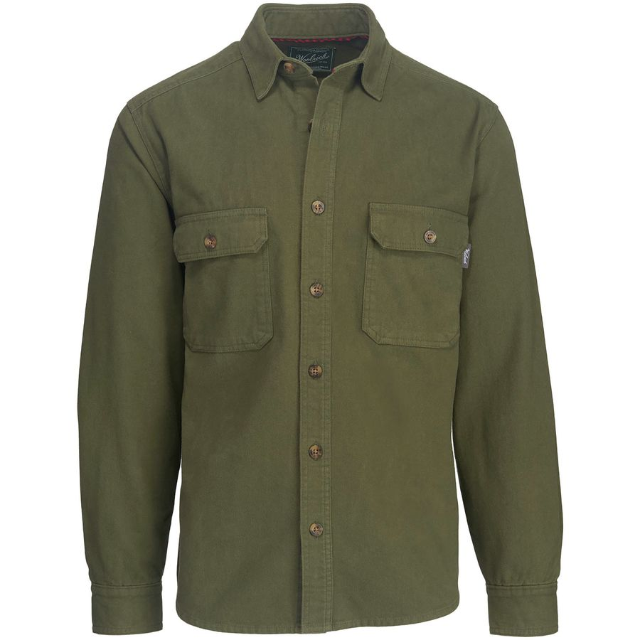 Woolrich Expedition Chamois Shirt - Mens