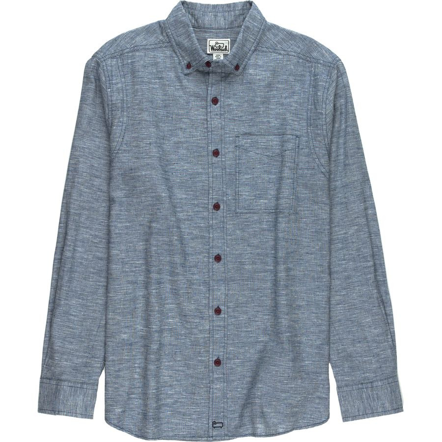 Woolrich Eco Rich Hemp Shirt - Mens