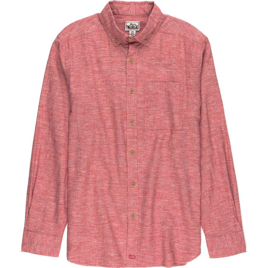 Woolrich eco rich hemp shirt men 39 s steep cheap for Mens hemp t shirts