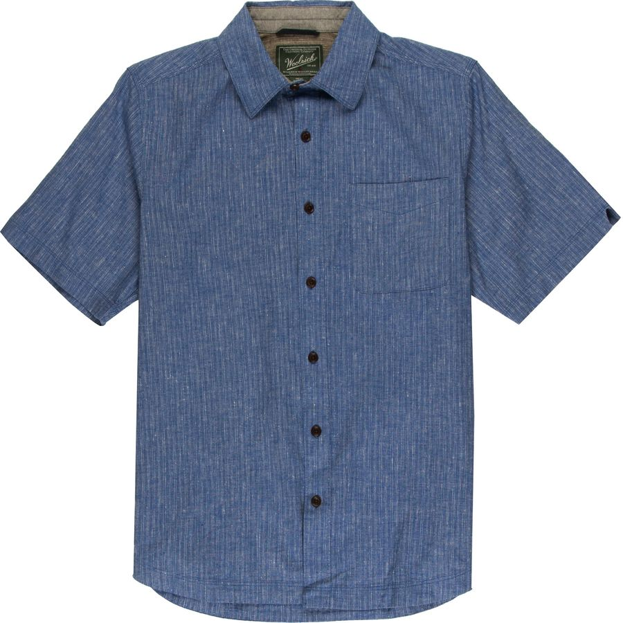 Woolrich Mainroad Eco Rich Modern Shirt - Short-Sleeve - Mens