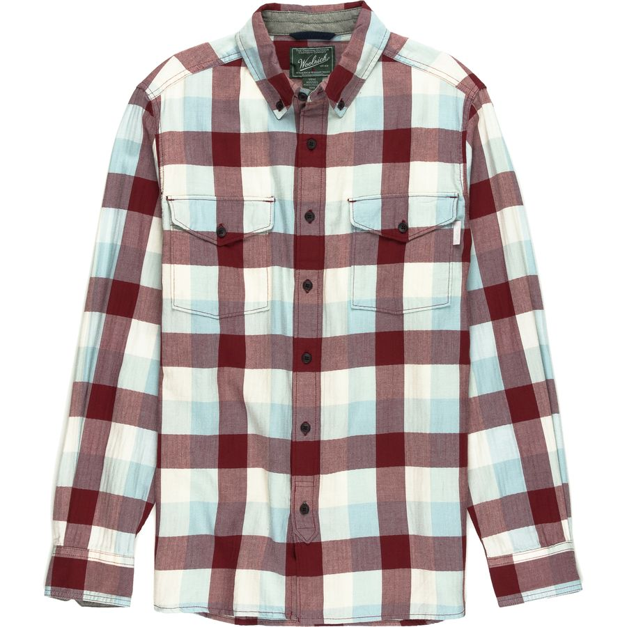 Woolrich Stone Rapids Eco Rich Modern Flannel Shirt - Mens