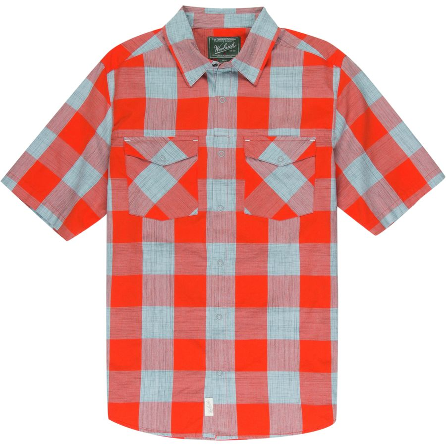 Woolrich Zephyr Ridge Space Dye Shirt - Mens