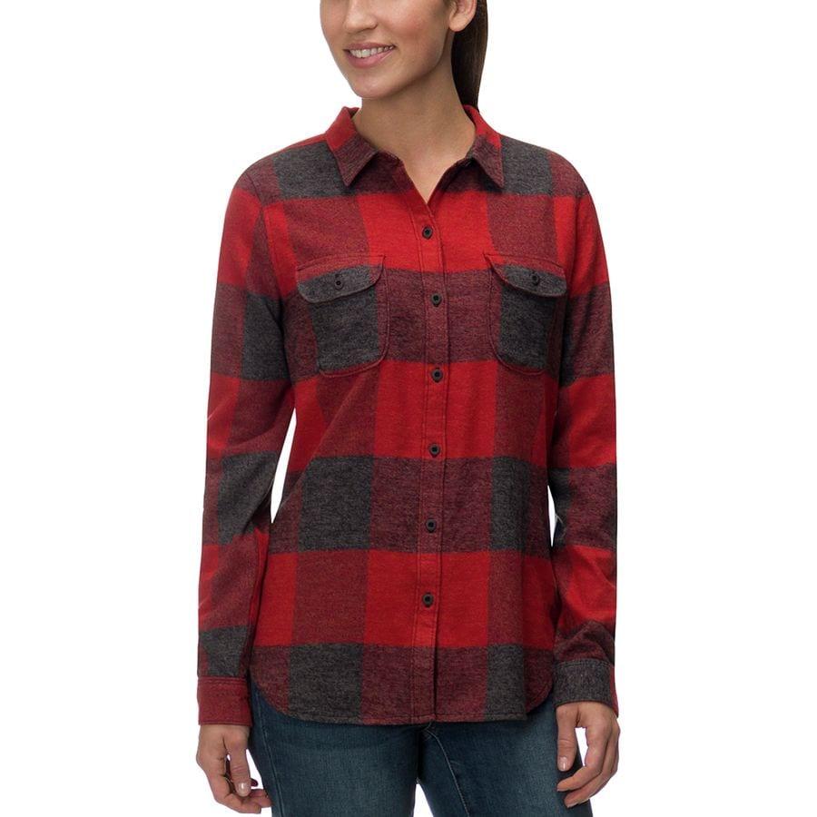 Woolrich Eco Rich Twisted Rich Flannel Shirt - Womens