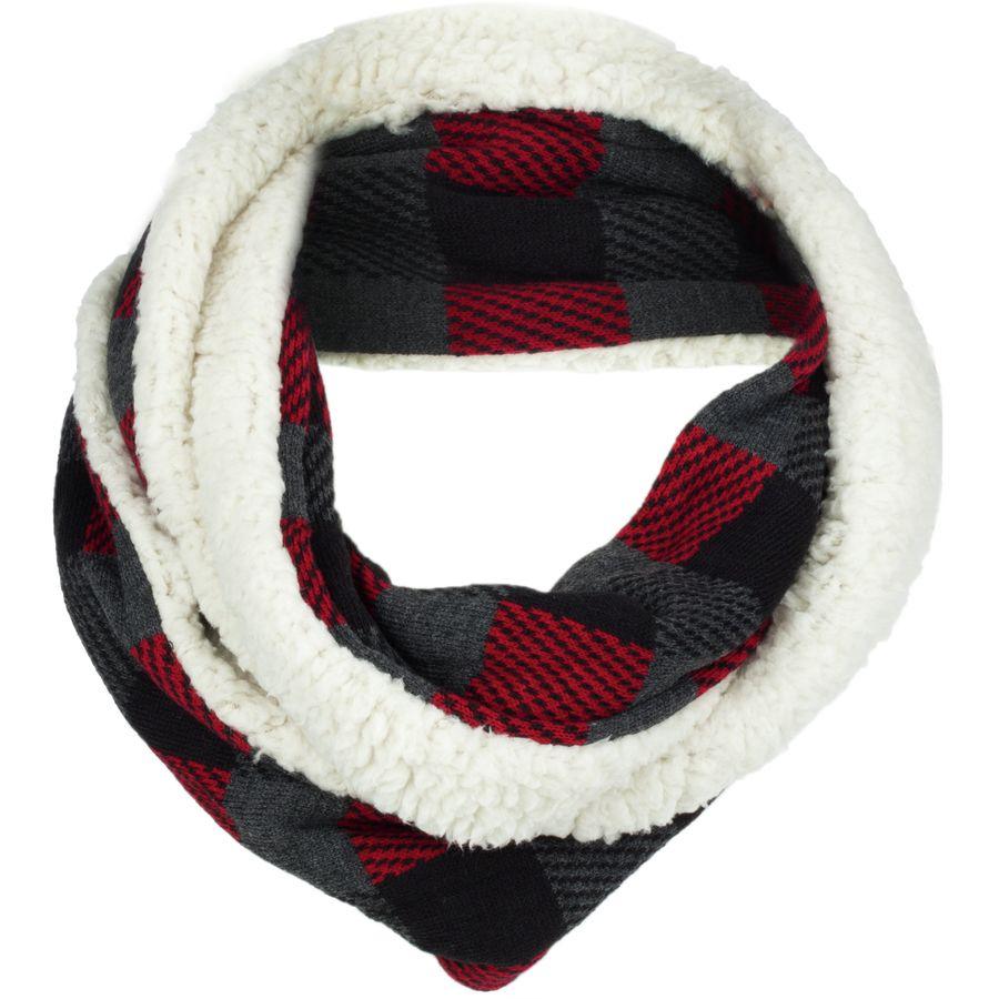 49167b53220c2 Woolrich Plaid & Sherpa Eternity Scarf - Women's | Backcountry.com