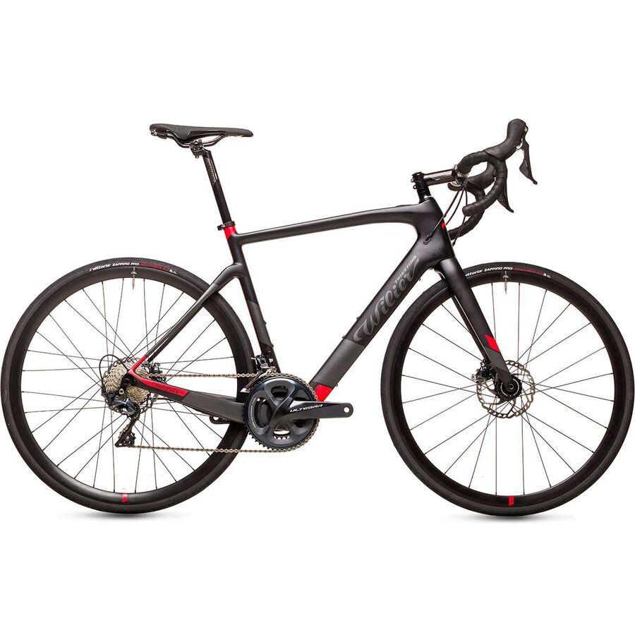 Wilier - Cento1HY Ultegra e-bike - Black/Red