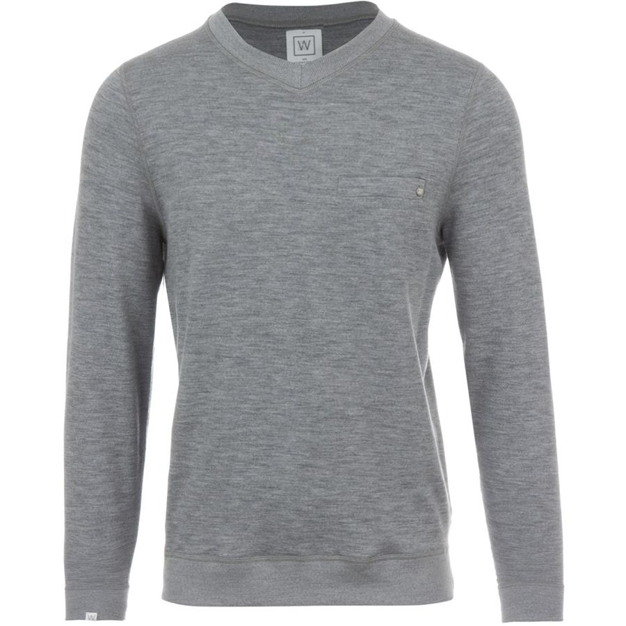 We Norwegians BaseTwo V-Neck Sweatshirt - Mens