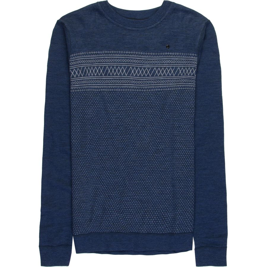 We Norwegians Setesdal Crewneck Sweater - Mens