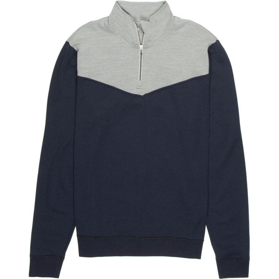 We Norwegians Ready 1/2-Zip Sweater - Mens