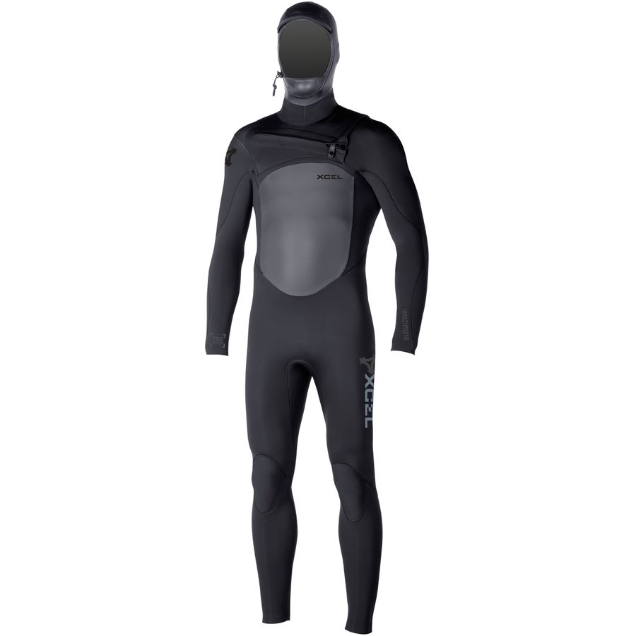 XCEL Hawaii 5/4 Infiniti X2 TDC Chest-Zip Hooded Full Wetsuit - Mens