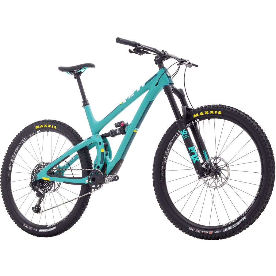 Yeti Cycles - SB5.5 Carbon GX Eagle Complete Mountain Bike - 2018 -  Turquoise 69bca1758