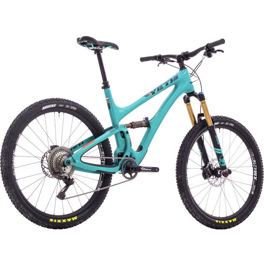 Yeti Cyber Monday Sale >> Yeti Cycles SB5 Turq XT Complete Mountain Bike - 2018 ...