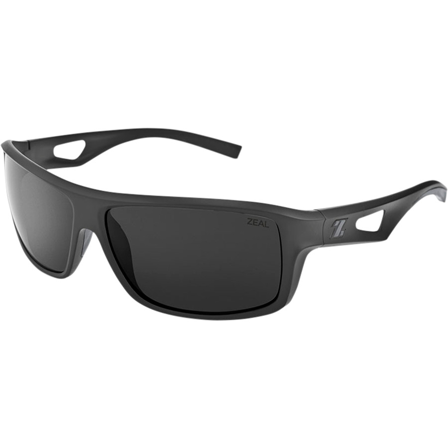 ef8daa3bdf1 Zeal - Range Polarized Sunglasses - Men s - Black Dark Grey