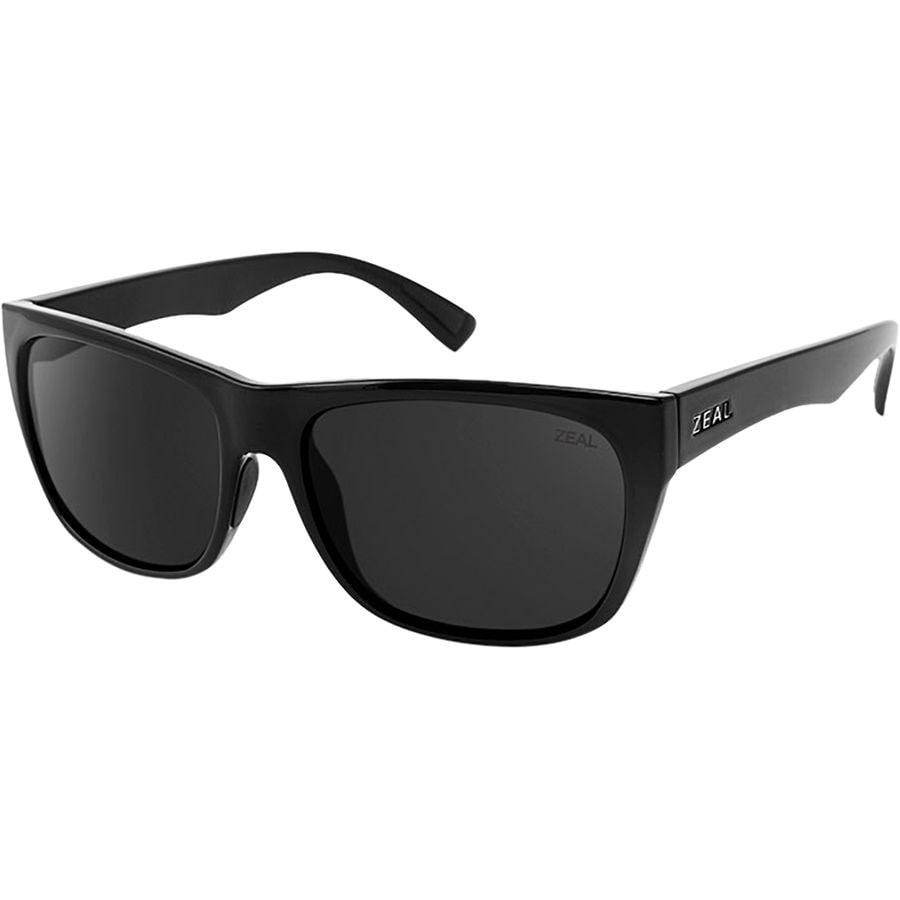 ece6e2d457 Zeal - Carson Sunglasses - Black Gloss Dark Grey