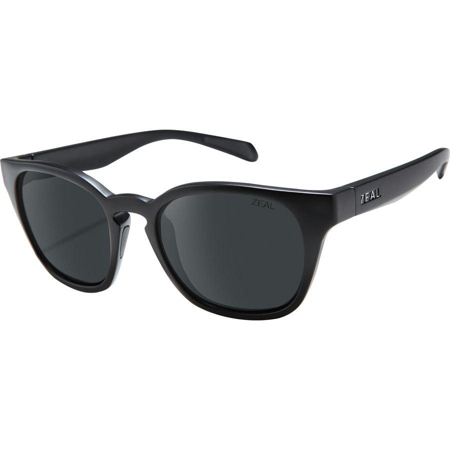 e91509ae9be Zeal - Windsor Polarized Sunglasses - Matte Black Dark Grey