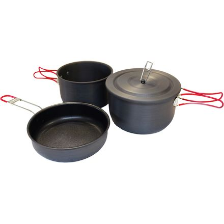 Alpine Mountain Gear Hard-Anodized Camping Cook Set
