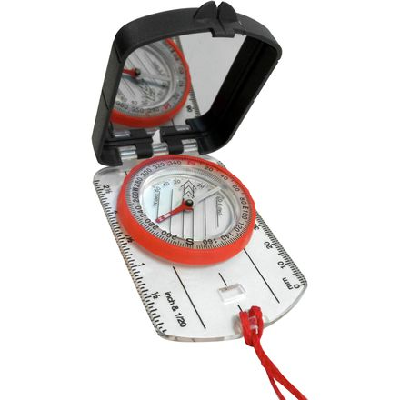 Alpine Mountain Gear Compass with Mirror