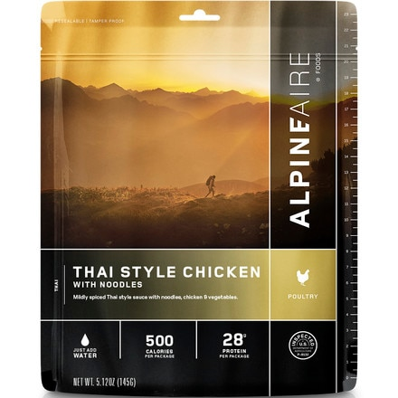 AlpineAire Thai Style Chicken with Noodles