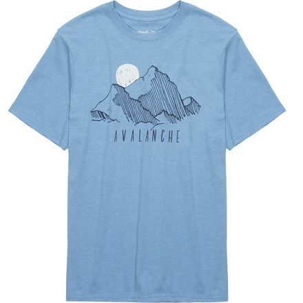 Avalanche Mountain Graphic T-Shirt - Men's