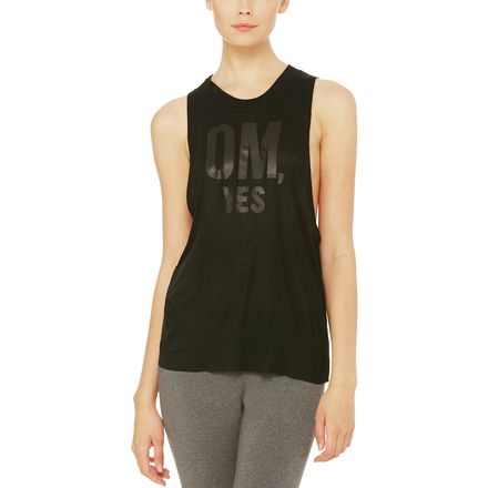 Alo Yoga Heat-Wave Graphic Tank Top - Women's