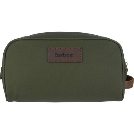 Barbour Drywax Washbag