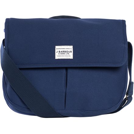 Barbour Cotton Canvas Tarras Messenger Bag